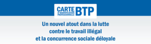 la carte BTP